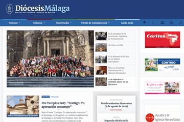 Web Diócesis de Málaga